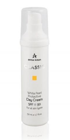 Белая жемчужина spf 25 Анна Лотан Classic White Pearl Protective Day Cream Anna Lotan