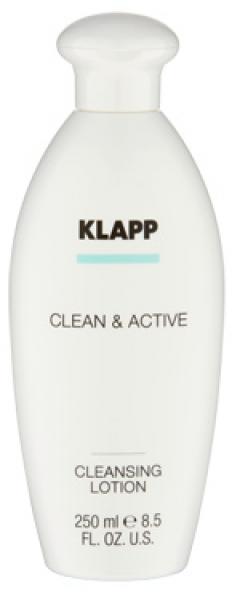 Базовая очищающая эмульсия Клапп Clean & Active Cleansing Lotion Klapp