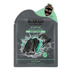 Тканевая маска детокс Уголь и Соль Фриман Feeling Beautiful Freeman