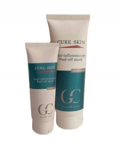 Противовоспалительная маска Пил-Офф Кьюр Скин Anti-inflammatory Peel-off mask Cure Skin