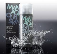 Освежающий гель для очищения кожи лица Доктор Шпиллер Refreshing Facial Cleanser Dr Spiller Biocosmetic