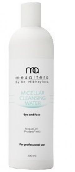 Мицеллярная вода для экспресс-демакияжа Мезалтера MICELLAR CLEANSER WATER MESALTERA by dr. Mikhaylova