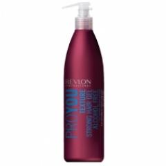 Гель для волос сильной фиксации Ревлон Профессионал Pro You Texture Hair Gel Alcohol Free Revlon Professional