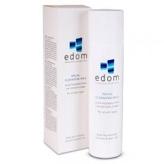 Мягкое очищающее молочко для лица Эдом Dead Sea Facial Cleansing Milk Edom