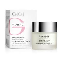 Увлажняющий крем для нормальной и сухой кожи СПФ 17 Джи Джи Vitamin E Moisturizer for dry skin SPF 17 Gigi