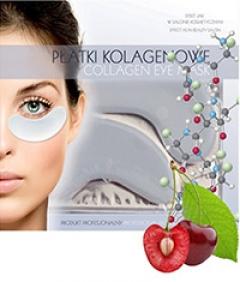 Коллагеновый пластырь для глаз при ломких сосудах Бьюти Фейc Platem kolagenowym delikatne oko, gdy naczynia Beauty face
