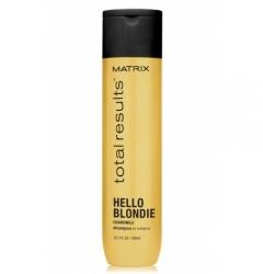 Шампунь для сияния светлых волос Матрикс Total Results Hello Blondie Shampoo Matrix