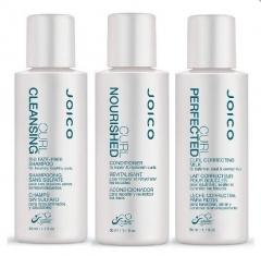 Набор подарочный (шампунь + кондиционер + молочко для расчесывания кудрявых волос) Джойко CR Gift Pack Joico