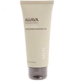 Отшелушивающий очищающий гель для лица Ахава Exfoliating Cleansing Gel Men AHAVA