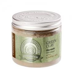 Зеленая косметическая глина Органик Argillotherapy Green Clay Organique