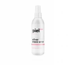 Увлажняющий спрей для сухой и чувствительной кожи лица Пьель косметикс Silver Aqua Spra Piel cosmetics