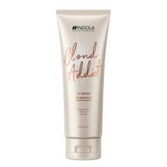 """Шампунь для всех типов волос """"Блонд""""  Индола Blond Addict Shampoo Indola"""
