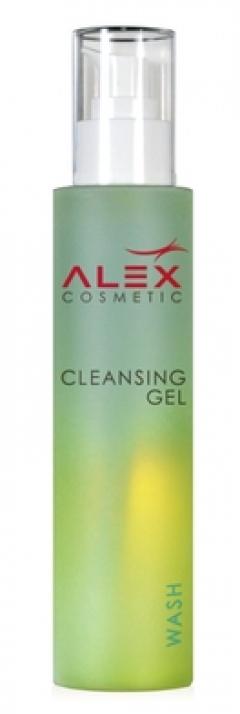 Очищающая и увлажняющая пенка-гель для всех типов кожи Алекс Косметик Cleansing Gel Alex Cosmetic