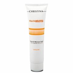 Увлажняющий крем с морковным маслом, коллагеном и эластином для сухой кожи Кристина Elastin Collagen Carrot Oil Moisture Cream Christina