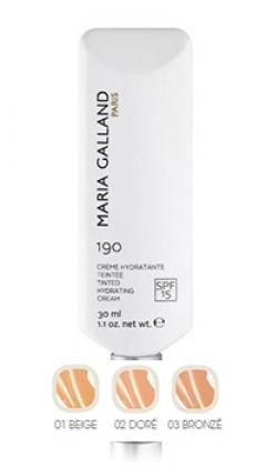 Тональный увлажняющий крем Мария Галланд Tinted Hydrating Cream № 190 Maria Galland