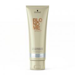 Шампунь для светлых волос и волос, окрашенных в холодные оттенки Blonde Color Enhancing Cool-Ice Schwarzkopf Professional