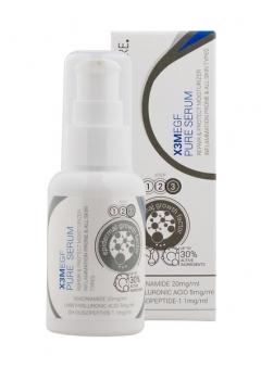 Очищающая сыворотка для проблемной кожи Клиникеэ X3M EGF PURE Serum Moist Clinicare