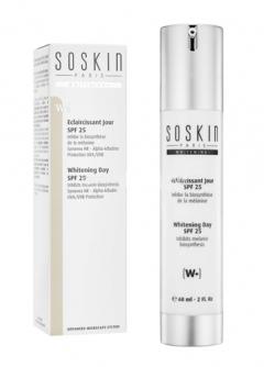 Флюид с осветляющим эффектом с защитой от солнца SPF 25 СоСкин Clarifying fluid SPF 25 SoSkin