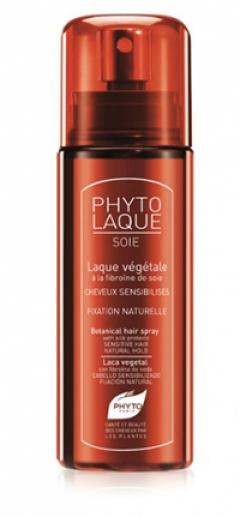 Растительный лак для волос на основе шеллака с протеинами шелка Фитолак Суа Фито PHYTOLAQUE SOIE LACA VEGETAL CON Phyto