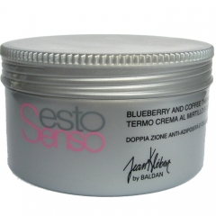 Термальный крем с экстрактом голубики и кофе Жан Клебер Sesto Senso Blueberry and Coffee Thermo Cream Jean Klebert