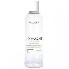 Мицеллярная жидкость для снятия макияжа Дермедик Normacne Micellar Water H2O Dermedic