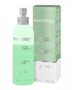Спрей с экстрактом гинкго билоба для увлажнения и защиты сухих, окрашенных и мелированных волос Фитодесс Ginkgo Biloba Spray Phytodess
