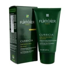 Шампунь-маска с глиной Курбисия Рене Фуртерер Curbicia Purifying Clay Shampoo Rene Furterer