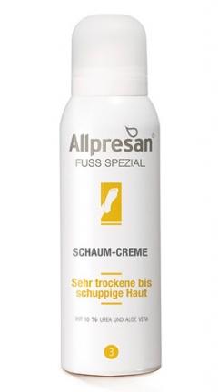 Крем-пена 3 для очень сухой, шелушащейся кожи стоп Аллпресан 3 Foot Cream Foam Allpresan