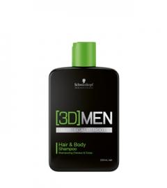 Шампунь для волос и тела Hair&Body Shampoo Schwarzkopf Professional