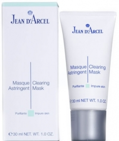 Маска антисептик, нормализующий секрецию сальных желез Жан д'Арсель Care for Impure Skin Masque Astringent Jean d'Arcel