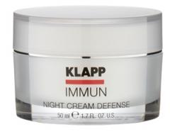 Крем ночная защита Клапп Immun Night Cream Defense Klapp