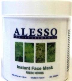 Противовоспалительная растворимая маска свежие травы Алессо Anti-inflammatory soluble mask fresh herbs Alesso