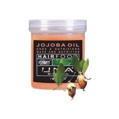 Маска для облегчения расчесывания волос Масло жожоба Роланд UNA Hair Food Jojoba Oil Hair Treatment Rolland