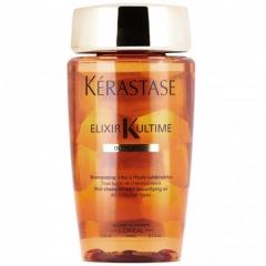 Увлажняющий очищающий шампунь с маслами для сухих и толстых волос Керастаз Elixir Ultime Oleo-Riche Shampoo Kerastase