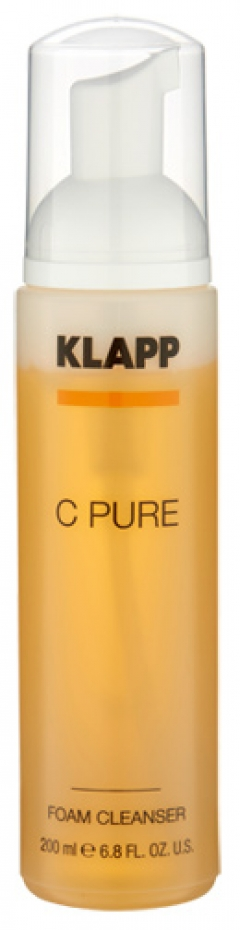 Очищающая пенка Витамин С Клапп C Pure Foam Cleanser Klapp