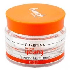 Ночной крем Возрождение Кристина Forever Young Repairing Night Cream Christina