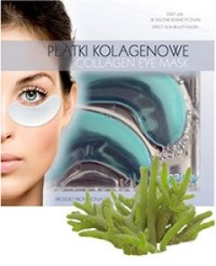 Коллагеновый пластырь под глаза с морскими водорослями Бьюти Фейc Collagen Eye Patch z wodorostоw Beauty face