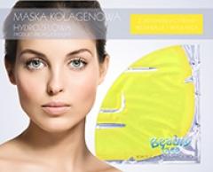 Маска коллагеновая с экстрактом лимона Бьюти Фейc Kolagen Maska z ekstraktem z cytryny Beauty face