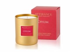 Ароматическая свеча Опиум Аттиранс Aromatic Glass Candle Opium Attirance
