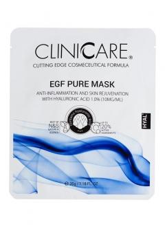 EGF Очищающая маска с 1% гиалуроновой кислотой Клиникеэ EGF PURE, anti-inflammation mask with 1.0% HA Clinicare