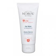 Антибактериальная гелевая маска для кожи с акнэ, угревой сыпью Норел Acne – Antibacterial gel mask Norel