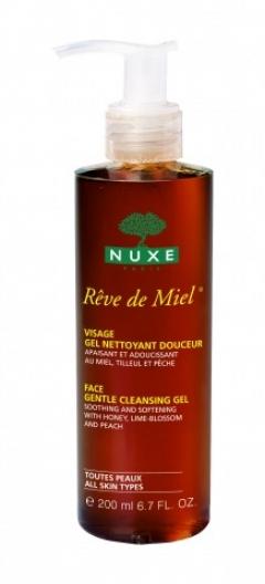 Медовая мечта очищающий гель для лица Нюкс Reve de Miel Face gentle cleansing gel Nuxe