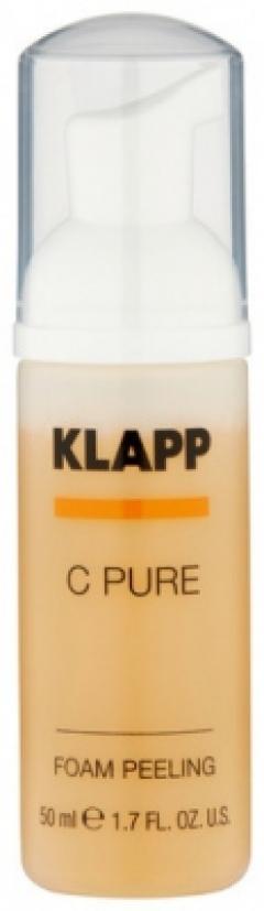 Пилинг-пенка с витамином С Клапп C Pure Foam Peeling Klapp