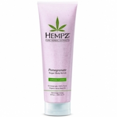 Скраб для тела с гранатом Хемпз Sugar Scrub Pomegranate Hempz
