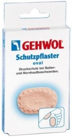 Овальный защитный пластырь Геволь Schutzpflaster oval Gehwol