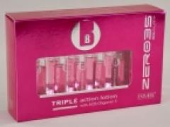 """Восстанавливающие ампулы тройного действия """"Глянцевый блеск"""" Эмеби Beauty triple action lotion Emmebi"""
