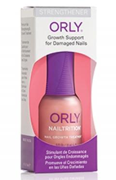 Премиум-средство для восстановления и роста сильно поврежденных, ломких и слоящихся ногтей Орли Nailtrition Orly