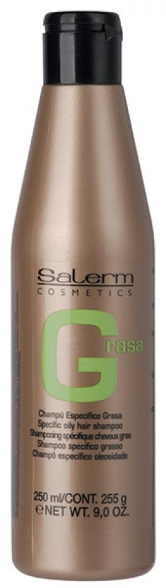 Шампунь для жирной кожи головы Салерм Champu Especifico Grasa Salerm