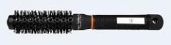 Термостойкий антистатический круглый керамический браш 25 мм (черный) Глобал кератин Thermal Round Brushes GK Hair Professional (Global Keratin)