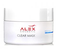 Снимающая воспаления маска с солью мертвого моря Алекс Косметик Clear Mask Alex Cosmetic